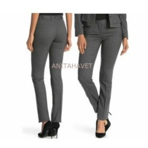 BOSS Titana BOSS Stretch Wool Trousers Pinstriped